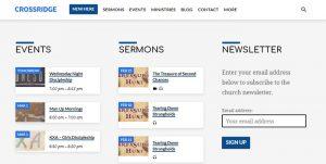 Sign Up for the CrossRidge Church Newsletter