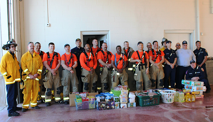 Dollar Day for Little Elm Fire Department